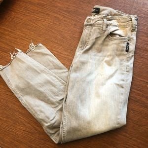 NWOT- Silver Jeans Ankle Skinny